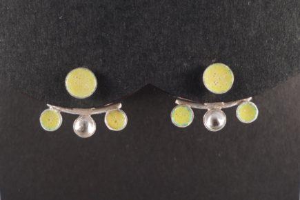 boucle-oreille-argent-jaune-sur-mesure